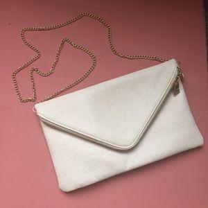 Handbags - SALE Cream envelope purse