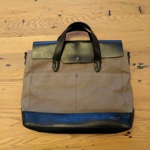 rag & bone Other - Rag & Bone canvas briefcase messenger bag