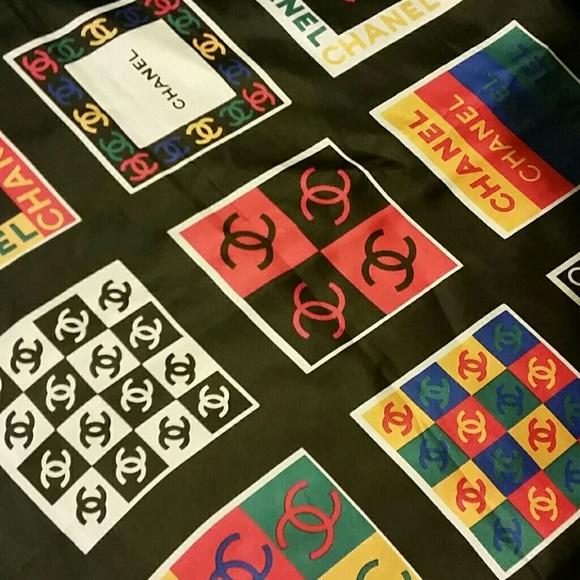 42933736cc0 CHANEL Accessories - Vintage Chanel Multicolor Scarf