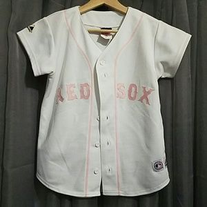 Majestic Tops - Womens Red Sox Jersey