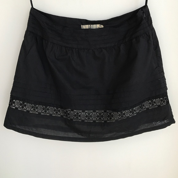 9f167d0e1 Billabong Skirts | Mini Skirt Black Skater Beach 9 L | Poshmark