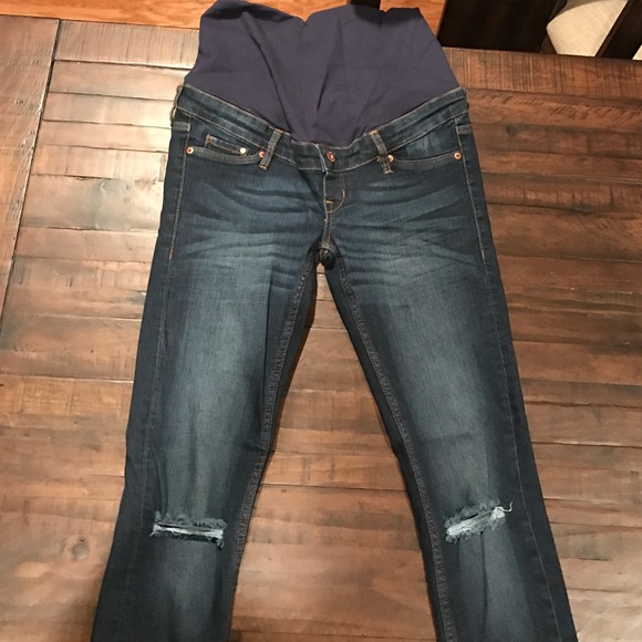 70% off h & m Denim - H & M maternity jeans from Liv's closet on ...