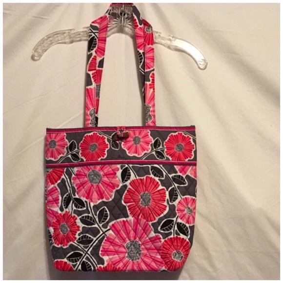 4617c2df2 Vera Bradley Bags | Tote Pink Flowers | Poshmark