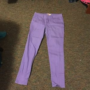 Lilac Purple Skinny Pants