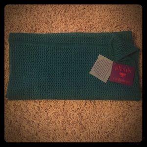 phenix  Accessories - Phoenix Cashmere green infinity scarf