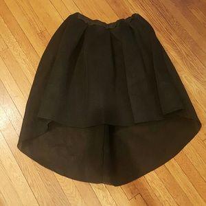 Blush Dresses & Skirts - BLUSH SKIRT 2X SUPER CUTE black mesh