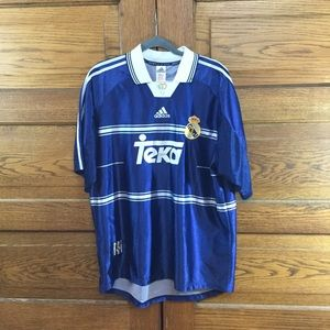Adidas Other - Vintage 1998-99 Real Madrid Away Shirt