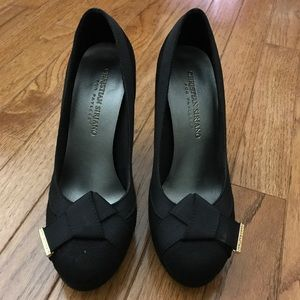 Christian Siriano Shoes - Faux suede heels