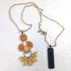 J. Crew Jewelry - Jcrew vintage statement long necklace
