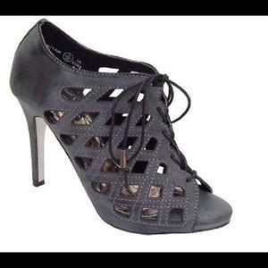 Anne Michelle Shoes - Anne Michelle Lattice Heels
