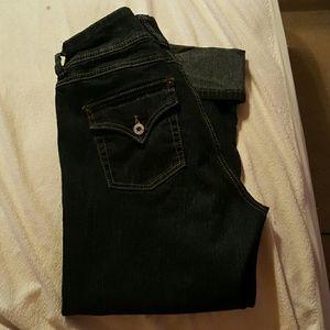 angel forever Denim - Dark blue cropped jeans