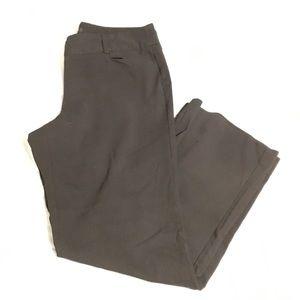 Alfani black dress pants, size 16
