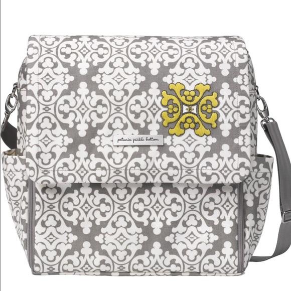 fdc55b82aa Petunia Pickle Bottom Boxy Glazed diaper bag. M 587ade736a5830510e02b5cc