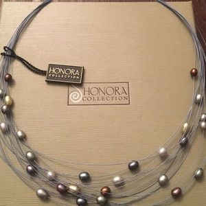 Honora Jewelry - NWT Honora Pearl Multistrand Necklace