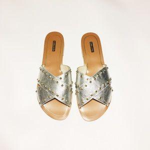 Louise et Cie Shoes - Sale! Louise et Cie Bonnie Studded Slide Sandal