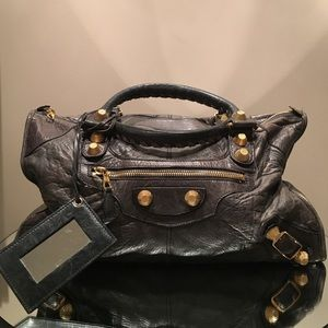 Balenciaga Handbags - Balenciaga classic city lambskin leather