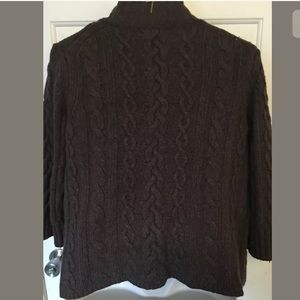 Banana Republic Sweaters - 🛍Banana Rep Cable Knit Wool Blend Open Front Card