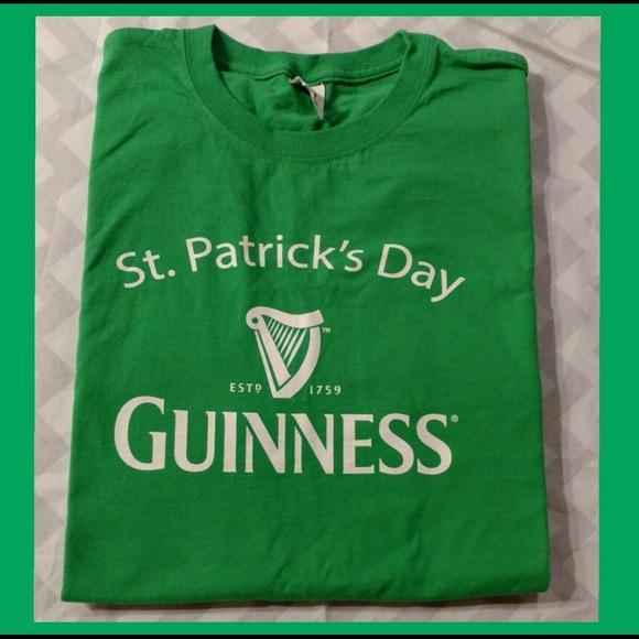4814fa447 Fruit of the Loom Tops | Nwot Guinness St Patricks Day Teeshirt ...