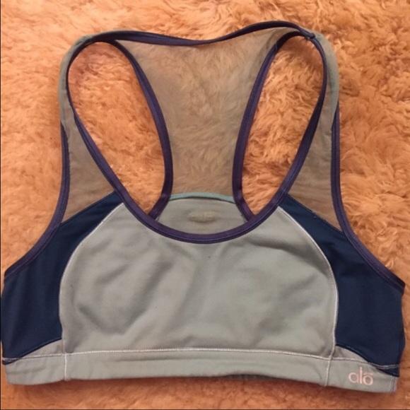 Alo Yoga Womens Interlace Bra W9112R