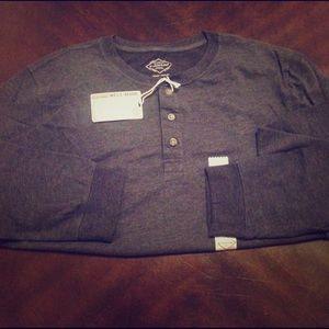 St. John's Bay Other - NWT 👨🏻Men's Henley Long Sleeve T Shirt