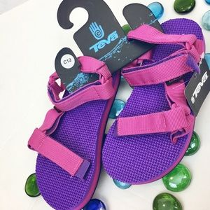 Teva Other - 🚨FIRM🎉 TEVA New Girls 13 Original Pink Sandals