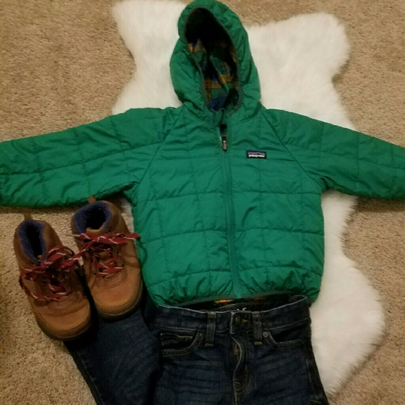 Patagonia Jackets Coats 3t Toddler Reversible Winter Coat Poshmark