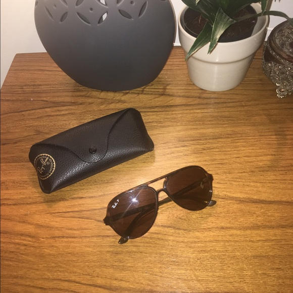 c317bd9acc Ray-ban cats 5000 Polarized tortoise sunglasses. M 587af69b8f0fc461fb06898b