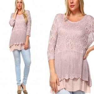 tla2 Tops - BOHO LIGHTWEIGHT TOP