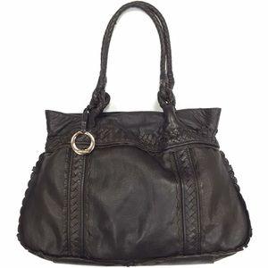 ELLIOTT LUCCA Brown Leather Tote