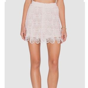 The Laundry Room Dresses & Skirts - The Laundry Room Shortie Skirt in shell