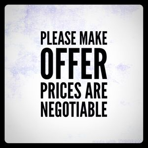Other - Reasonable offers acceptable on bundles