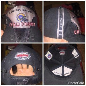Rams 2000 SuperBowl Hat
