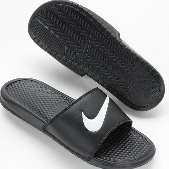 37f2f1dfa925 Nike slides slip on shoes Benassi Swoosh size 10