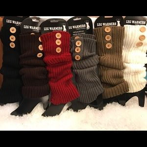 Other - Brand new very Pretty leg warmers 3 for $25