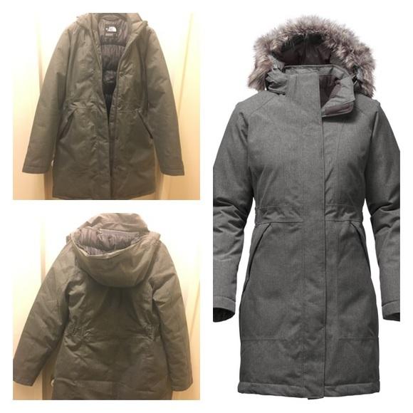 North Face Arctic Parka Jacket Heather Grey Small.  M 587b07cebf6df5c6570381db 2790c9111