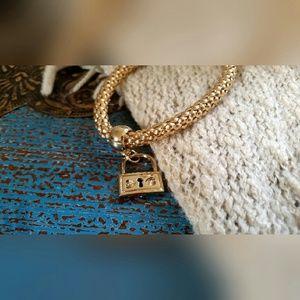 Jewelry - Gold Lock Bracelet