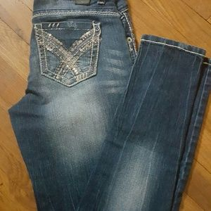 Vanity Denim - NWT Vanity premium collection bling skiny