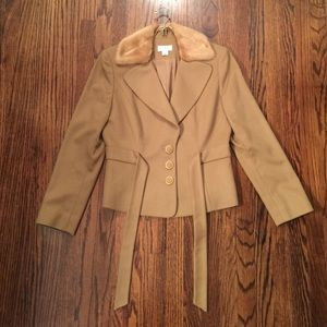 Ann Taylor Size 4 Tan coat