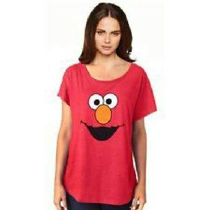 Sesame Street Tops - Sesame Street Elmo tee