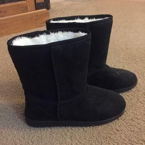 Dawgs Shoes - Faux Shearling Boots