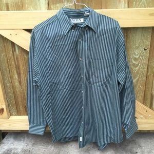 Cactus Other - Cactus Clothing Striped Button Down Long Sleeve XL
