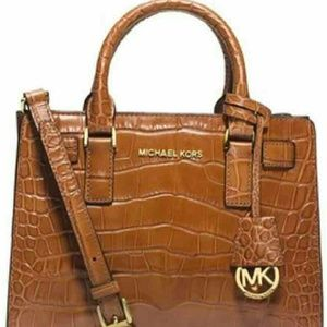 Michael Kors Handbags - Michael Kors leather satchel