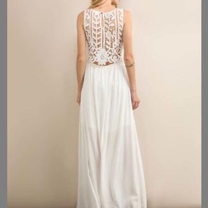Soieblu Dresses White Lace Crochet Dress Poshmark