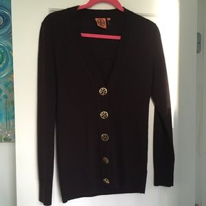 Tory Burch Sweaters - Tory Burch Simone Cardigan in Brown