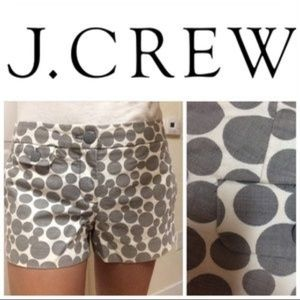 J. Crew Pants - J.Crew Polka Dot Shorts