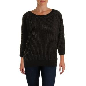 Charter Club Tops - *SALE* Embellished Cascading Sweater NWT $80 XL