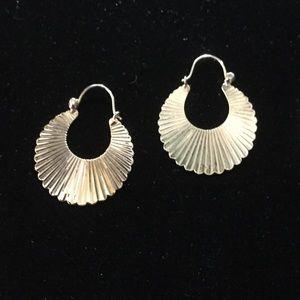14K Gold Posts Earrings
