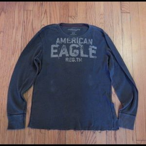 American Eagle Outfitters Other - American Eagle Men's Blue Grey Thermal Sz M