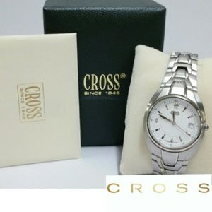 CROSS Other - 💖HP💖NWT IN BOX -MENS CROSS STAINLESS STEEL WATCH