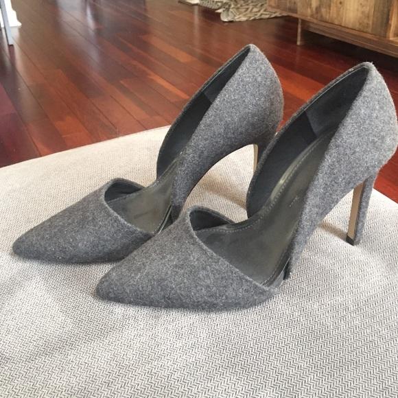 a9bbf48d4855 Banana Republic Shoes - Banana Republic Wool D Orsay Heels